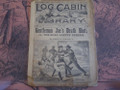 1895 LOG CABIN LIBRARY #306  SCARCE STORY PAPER DIME NOVEL