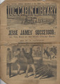 1894 LOG CABIN LIBRARY #281A  SCARCE STORY PAPER DIME NOVEL