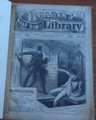 BEADLE'S HALF DIME LIBRARY #447 BOWERY NEW YORK  DETECTIVE SCARCE STORY PAPER DIME NOVEL