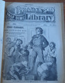 BEADLE'S HALF DIME LIBRARY #261 BOWERY NEW YORK  DETECTIVE SCARCE STORY PAPER DIME NOVEL