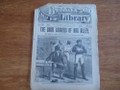 BEADLE'S HALF DIME LIBRARY #830 BOWERY TIN / RAG CAN ALLEY  DETECTIVE SCARCE STORY PAPER DIME NOVEL