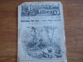 BEADLE'S HALF DIME LIBRARY #349 BUCKSKIN SAM BIG-FOOT WALLACE STORY PAPER DIME NOVEL