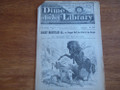 BEADLE'S NEW YORK DIME LIBRARY #225 BUCKSKIN SAM STORY PAPER DIME NOVEL