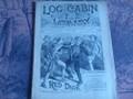 LOG CABIN LIBRARY # 140 NED BUNTLINE SCARCE PIRATE STORY PAPER DIME NOVEL