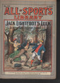 1905 ALL-SPORTS LIBRARY #45 VG SCARCE ATHLETIC STREET & SMITH DIME NOVEL