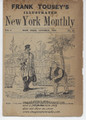 FRANK TOUSEY ILLUSTRATED NEW YORK MONTHLY ADVERTISEMENT DIME NOVEL STORY PAPERS
