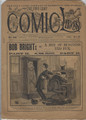 1892 FIVE CENT COMIC LIBRARY #122 COMIC STORY DIME NOVEL STORY PAPER