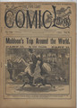1892 FIVE CENT COMIC LIBRARY #124 COMIC STORY DIME NOVEL STORY PAPER