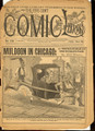 1892 FIVE CENT COMIC LIBRARY #138 COMIC STORY DIME NOVEL STORY PAPER