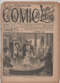 1892 FIVE CENT COMIC LIBRARY #34 COMIC STORY DIME NOVEL STORY PAPER