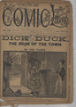 1896 FIVE CENT COMIC LIBRARY #134 COMIC STORY DIME NOVEL STORY PAPER