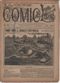 1893 FIVE CENT COMIC LIBRARY #24 COMIC STORY DIME NOVEL STORY PAPER
