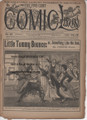 1894 FIVE CENT COMIC LIBRARY #89 COMIC STORY DIME NOVEL STORY PAPER