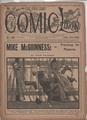 1898 FIVE CENT COMIC LIBRARY #185 COMIC STORY DIME NOVEL STORY PAPER