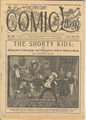 1895 FIVE CENT COMIC LIBRARY #123 COMIC STORY DIME NOVEL STORY PAPER