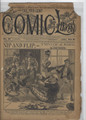 1893 FIVE CENT COMIC LIBRARY #27 COMIC STORY DIME NOVEL STORY PAPER