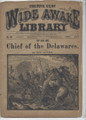 1884 FIVE CENT WIDE AWAKE LIBRARY 618 ADVENTURE STORY DIME NOVEL STORY PAPER