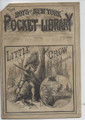 1883 THE BOYS OF NEW YORK POCKET LIBRARY FRANK TOUSEY ROBERT LENNOX DIME NOVEL
