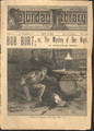 1888 SATURDAY LIBRARY #114 POLICE CAPT HOWARD SCARCE DIME NOVEL