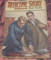 1919 DETECTIVE STORY MAGAZINE PULP HERMAN LANDON DOUGLAS GREY WILLIAM BALL