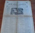 1870 NEW YORK LEDGER KIT CARSON STORY LEON LEWIS  COMPLETE IN 15 ISSUES