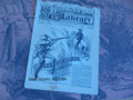 1885 BEADLE'S HALF DIME LIBRARY #405 CALAMITY JANE STORY DIME NOVEL STORY PAPER