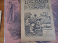 1889 LOG CABIN LIBRARY # 17 REVOLUTIONARY WAR STORY PAPER DIME NOVEL