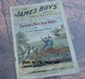 1903 JAMES BOYS WEEKLY #134 FRANK TOUSEY D. W. STEVENS DIME NOVEL STORY PAPER