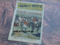 1902 JAMES BOYS WEEKLY #80 FRANK TOUSEY D. W. STEVENS DIME NOVEL STORY PAPER
