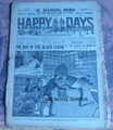1918 HAPPY DAYS #1245 BOY IN THE BLACK CLOAK SCARCE DIME NOVEL STORY PAPER