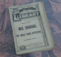1885 OLD CAP COLLIER LIBRARY #46 VERY EARLY DIME NOVEL STORY PAPER