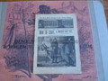 1889 SATURDAY LIBRARY #160 CIVIL WAR SCARCE DIME NOVEL STORY PAPER