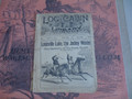 1889 LOG CABIN LIBRARY #19 RACE TRACK LIFE & MYSTERY DIME NOVEL STORY PAPER