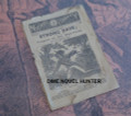 1880 NICKEL LIBRARY #498 BLACKFOOT INDIANS STORY PAPER DIME NOVEL
