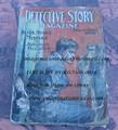 1916 DETECTIVE STORY MAGAZINE PULP BLACK STAR JOHNSTON MC CULLEY NICK CARTER