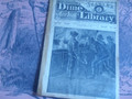 1891 BEADLE'S NEW YORK DIME LIBRARY #657 BOSTON BLOCKADE REVOLUTIONARY WAR NOVEL