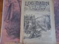 1891 LOG CABIN LIBRARY # 125 DANIEL BOONE SCARCE STORY PAPER DIME NOVEL