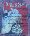 1916 DETECTIVE STORY MAGAZINE PULP NICK CARTER SCOTT CAMPBELL CAROLYN WELLS