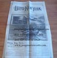 1890 BOYS OF NEW YORK # 780 FRANK TOUSEY DIME NOVEL STORY PAPER