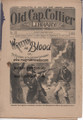 1898 OLD CAP COLLIER #760 WILL WINCH DIME NOVEL STORY PAPER