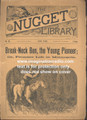 1890 SCARCE NUGGET LIBRARY #68 FRANK STAUFFER MINNESOTA DIME NOVEL STORY PAPER
