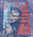 1916 DETECTIVE STORY MAGAZINE PULP NICK CARTER CAROLYN WELLS HARRY HARDING