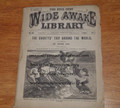 1881 FIVE CENT WIDE AWAKE LIBRARY PETER PAD'S SHORTY OVER SIZE 60 PGS DIME NOVEL