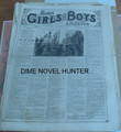 1876 MUNRO'S GIRLS & BOYS OF AMERICA #133 SCARCE STORY PAPER DIME NOVEL