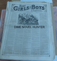 1876 MUNRO'S GIRLS & BOYS OF AMERICA #135 SCARCE STORY PAPER DIME NOVEL