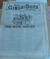 1876 MUNRO'S GIRLS & BOYS OF AMERICA #145 SCARCE STORY PAPER DIME NOVEL