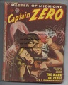 1949 CAPTAIN ZERO PULP MAGAZINE VOL #1, ISS #2 SCARCE PULP