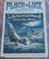 PLUCK AND LUCK #05  VERY EARLY FRANK TOUSEY SCARCE DIME NOVEL