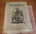 1869 NEW YORK WEEKLY WILD BILL HICKOK COVER BUFFALO BILL STORY PAPER DIME NOVEL