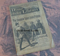 BEADLE'S NEW YORK DIME LIBRARY #941 DIME NOVEL STORY PAPER